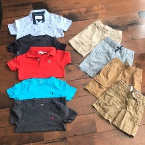 Boys Spring/Summer Bundle: Lacoste/Gap/Polo